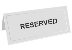 reserved-sign-1428235_1920